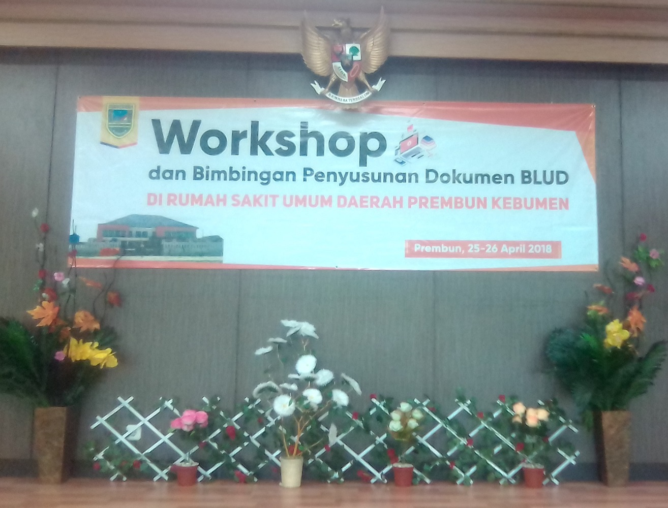 WORKSHOP dan Bimbingan  Penyusunan Dokumen BLUD di RSUD Prembun Kebumen
